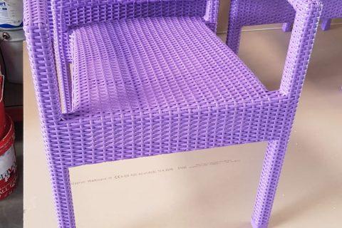 Resinatura sedie